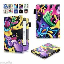 "Designer Book Case Cover For Amazon Kindle E Reader 6"" 8th Generation 2016 Color"