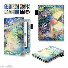 "Designer Book Case Cover For Amazon Kindle E Reader 6"" 8th Generation 2016 Angel"
