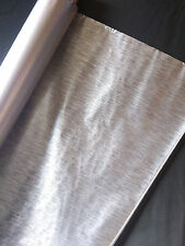 Hydrographics film metal brush silver water transfer printing film HugasLTD