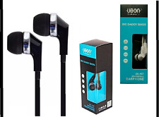 Headphones Handfree UBON With BIG DADDY BASS Mic 3.5 Jack For Sony Samsung HTC