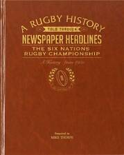 Personalised History of the Six Nations Rugby Newspaper Book Memorabilia Gift