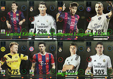 * Adrenalyn XL  Champions League 2014 / 2015 Panini Limited Edition Cards