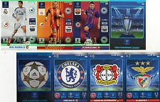 * CLUB BADGE MASTER Adrenalyn 2014 / 2015 Champions League Panini cards