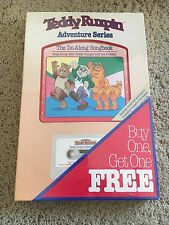 Lot of 2 Teddy Ruxpin Adventure Series Cassettes with Books -New in Shrink Wrap