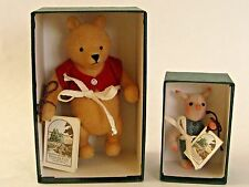 R JOHN WRIGHT POCKET WINNIE THE POOH & POCKET PIGLET SET MIB