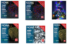 noma harlequin 40 outdoor christmas cone lights brand new0