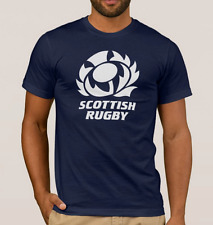 SCOTLAND RUGBY T-Shirt Top. SIX NATIONS Shirt. 6 Nations 2017