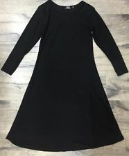 Girls Maxi School Dress Kids Plain Black Long Sleeve Holiday Abaya Islamic7 -13