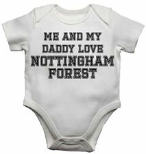 Me and My Daddy Love Nottingham Forest, per Calcio Fan Bambino Body