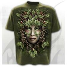 SPIRAL DIRECT OAK KING T-Shirt,Green Man/Magic/Celtic/Fantasy/Tribal/Tatuaggio/