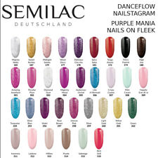 Semilac UV LED Nagellack Hybrid Lack 7ml Gel Polisch Dance Flow