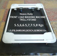 FRONT LOAD Heavy Duty Washing Machine Trolley Stand FOR IFB, SAMSUNG, BOSCH