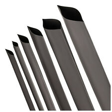 Heat shrink tube black 2:1, 3:1, 3:1 with Kleber Sold by the meter to roll
