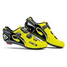 Sidi Wire Carbon Vernice Black Yellow Fluo