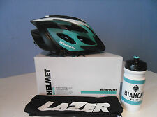 BIANCHI ROX  HELMET by LASER and FREE BIANCHI BOTTLE