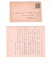 Washington #529? 1918 3 CENT with 4 page Written 1919 Letter