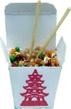 Dollhouse Miniature Stir Fry Chinese Take Out by Bright deLights