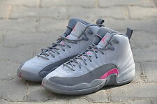 "Nike  Air Jordan 12 Retro (GG) ""Cool Grey"" (510815-029) US 4Y - 5Y"