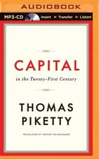 Capital in the Twenty-First Century by Thomas Piketty (2015, MP3 CD, Unabridged)