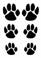 Paw Prints, A5/A4/A3 Mylar Stencil,125/190 micron, Free UK Delivery