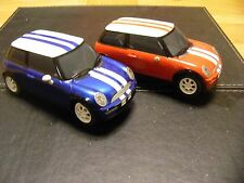2 SCALEXTRIC MINI COOPERS WORKING