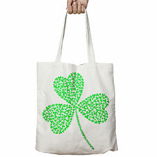 Shamrock of Shamrocks Ireland Irish St Patrick Day Shopper Tote Bag Shopping P3