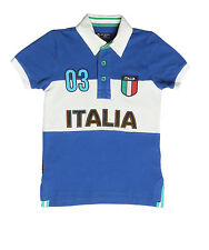 XnY Boy's Blue Polo Sport T-Shirt (TP 1030175)