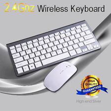 Ultra Sottile Wireless Keyboard Tastiera Bluetooth and Mouse Per PC Computer