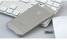 PS Ultrathin Phone Case Cover For iPhone 5 5S SE Translucent