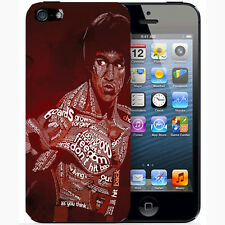 Cover  Plastica per Iphone 6 - 5 e 5s - 5c - 4  4s 182 bruce lee