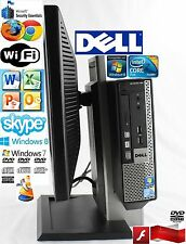 Dell OptiPlex 780 USFF Core2 Duo E7500 2.93GHz 250GB HD 4GB RAM  Win 7Pro WiFi