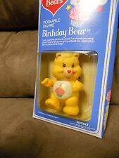 NEW IN BOX Vintage 1980s Kenner Care Bears Birthday Bear Posable Figure (NOS)