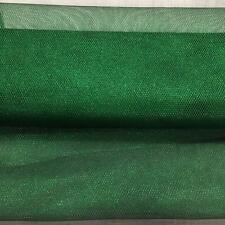 Emerald Green METALLIC Dress Net Fish Net TUTU Fabric Material Tulle Mesh 150