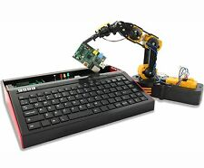FUZE powered by Raspberry Pi V2 - With Robot Arm Kit, Project Workbook & More!