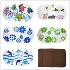 Anti-Slip PVC Bath Mat Bathroom Safety Carpet Bath Shower Floor Cushion Rug@WS