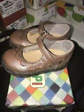 Pom d'api velcro girls size in old pink