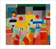Delaunay - The Runners - fine art giclee print - various sizes
