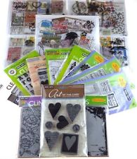 HERO ARTS Clear Stamps, Cling Rubber Stamps HUGE DISCOUNT