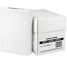 EVERYDAY A4 WHITE PAPER 80GSM PRINTER COPIER | 1 2 3 4 5 REAMS OF 500 SHEETS