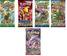 Pokemon XY10 Fates Collide XY8 XY7 XY9 Break Point Steam Siege Booster Packs New