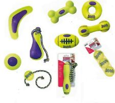 Kong Air Dog/Puppy Toys - Balls/Dumbells - Fetch/Squeaking