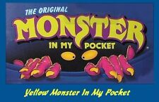 Monster in my Pocket - Series 1 - Mini Figure MIMP Matchbox MEG - Yellow