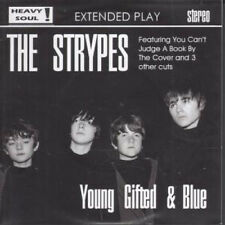 "STRYPES Young Gifted And Blue E.P. 7"" VINYL UK Heavy Soul 2012 4 Track EP"