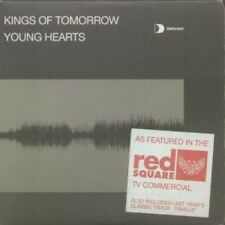 KINGS OF TOMORROW Young Hearts CD European Defected 2002 3 Track Radio Edit In