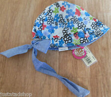 Nolita Pocket baby girl summer hat bandana 44 cm 0-3 m New BNWT designer
