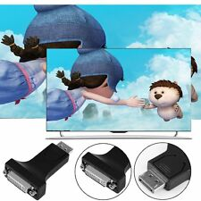 !DP Display Port Male to HDMI/DVI 24+5 Female Converter Adapter For PC Laptop!S