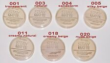 Rimmel London Stay Matte Compact Pressed Powder With Natural Minerals 14g