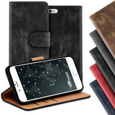 Tasche fur Apple iPhone Hulle Case Bookstyle Handy Schutzhulle Cover