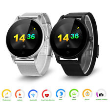 Excelvan Orologio intelligente BLUETOOTH SMART WATCH Per Android IOS HEART RATE