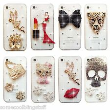 BRILLANTE LUJOSO TINKERBELL Ángel CALAVERA DIAMANTE FUNDA 4 SAMSUNG iPHONE SONY